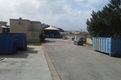 Impianto di stoccaggio rifiuti speciali.